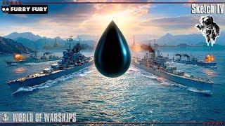 МОРСКОЕ СРАЖЕНИЕ ЧАСТЬ 2 World of Warships | девушка мода скетч