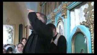 Repeat youtube video Vladimir Pustan in biserica ortodoxa din Mosuni Partea 2