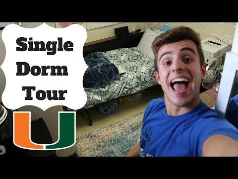 SINGLE DORM TOUR: UNIVERSITY OF MIAMI