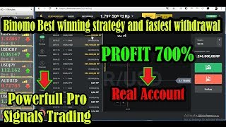Binomo Best winning strategy and fastest withdrawal - Powerfull Pro Signals Trading