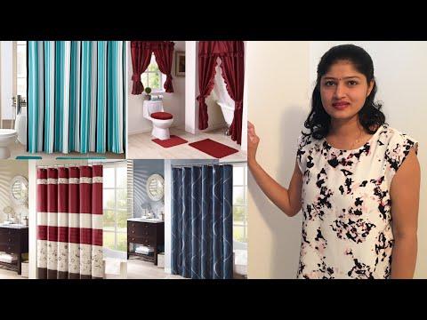 Top 100 Modern Bathroom Shower Curtains Design Ideas | Latest Bathroom Curtains Designs 2020