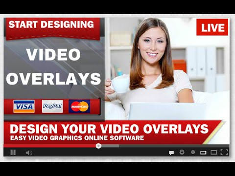 Video Overlay Software as Easy Video Graphics | Transparent Video Overlay