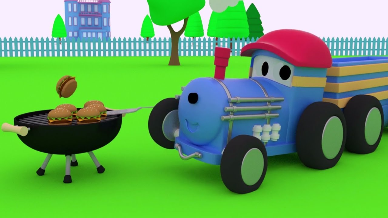 ted-the-train-learns-numbers-and-cooks-a-bbq-educational-cartoon-for-children-toddlers