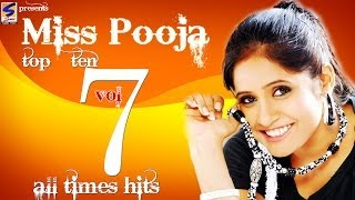 Miss Pooja Top 10 All Times Hits Vol 7 | Non-Stop HD Video | Punjabi New hit Song -2014