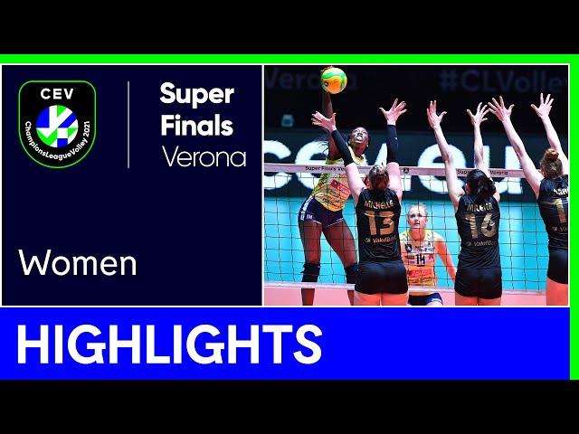 A. Carraro Imoco CONEGLIANO vs. VakifBank ISTANBUL Highlights - #SuperFinalsVerona