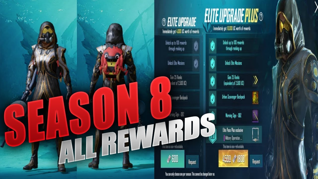 PUBG Mobile Royale Pass Season 8: Leaked rewards, more | BGR