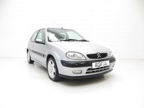 A Sensational Unmodified Citroen Saxo VTS with Amazing History - SOLD!