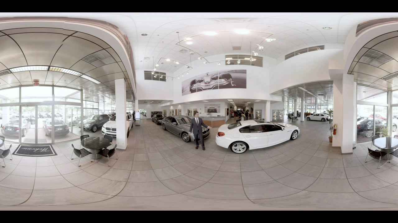 Open road bmw of edison showroom 360