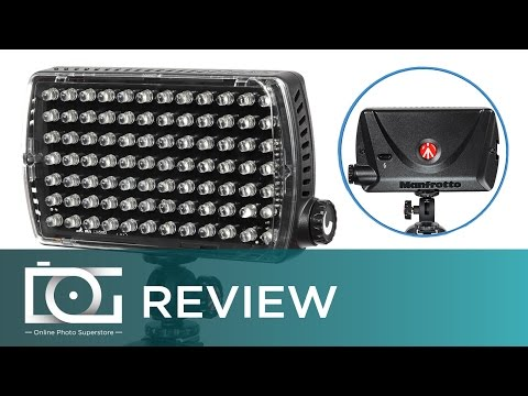 MANFROTTO VIDEO LIGHT | LED Light (ML840H) for Video Recording and Camera Flash for Photos