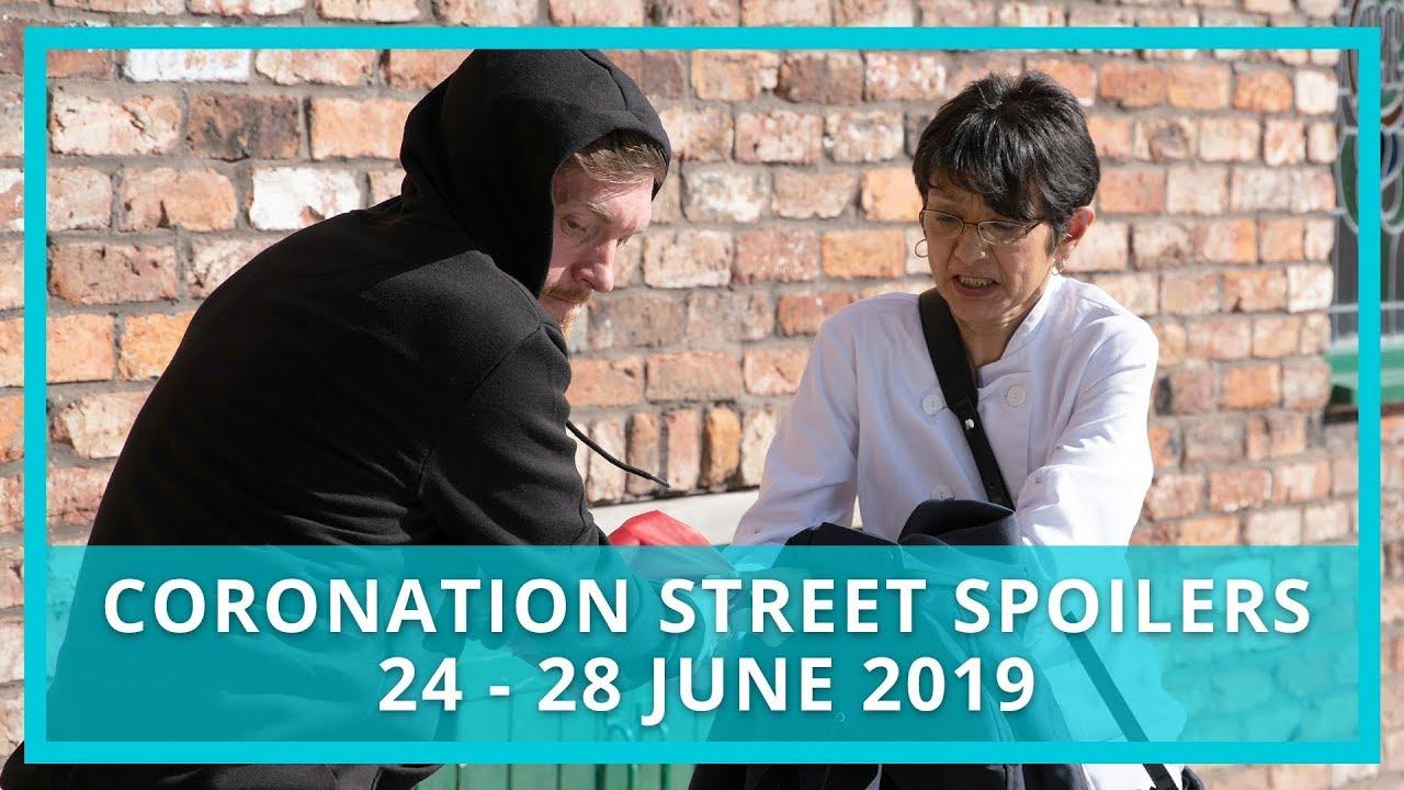 Coronation Street spoilers: 24 - 28 June 2019