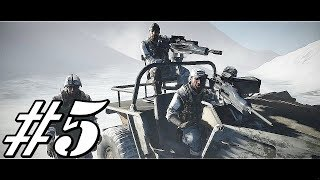 Battlefield Bad Company 2 Walkthrough Gameplay Part 5 - Mission 5 - Crack The Sky(No Commentry)