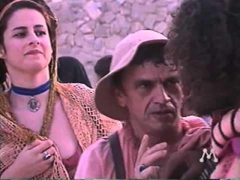 Novela Mandacaru - cena do Ator Renato Oliveira (Rede Manchete)