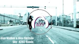 Alan Walker & Alex Skrindo   Sky  -  X282 Remix