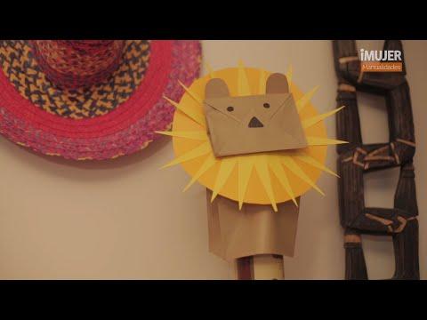 T tere de mano c mo hacer un t tere imujerhogar youtube - Como hacer marionetas de mano ...