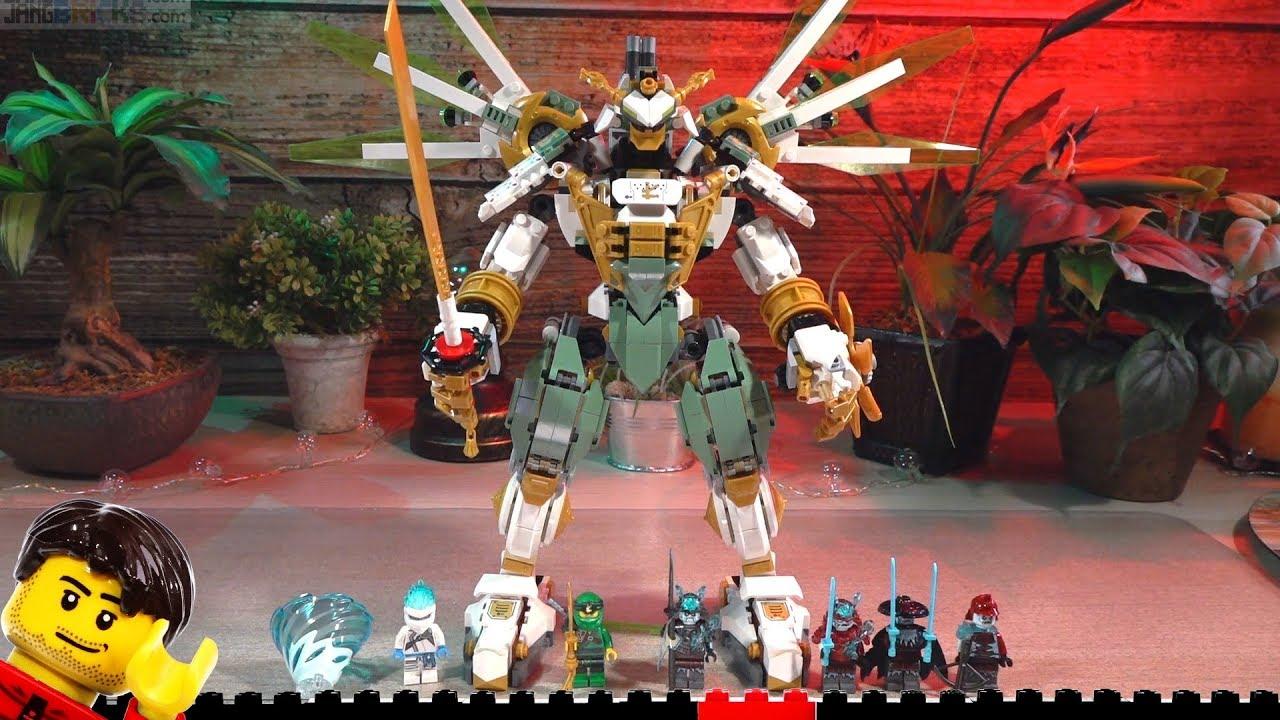 Build Lego Ninjago Lloyd S Titan Mech 70676 Time Lapse Youtube