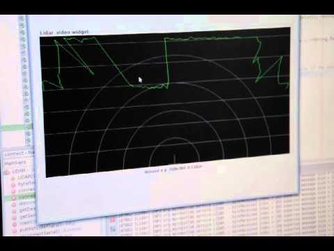 MyRobotLab LIDAR service