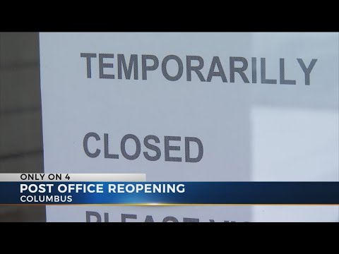 East Columbus Post Office To Reopen After Nearly 3 Months