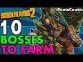 Top 10 Best Bosses to Farm in Borderlands 2 Redux For Eridium, Legendaries and XP #PumaCounts