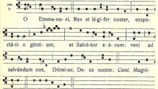 Antífonas do Ó: O Emmanuel