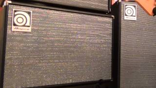 Ampeg SVT212AV & SVT112AV Bass Speaker Cabinets Overview Full Compass