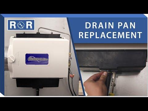 Humidifier Drain Pan: Repair And Replace (GeneralAire GF-1042)