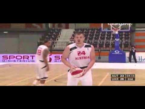 Rasid Mahalbasic vs Ukraine (2012 Eurobasket qualifying round, day 2)