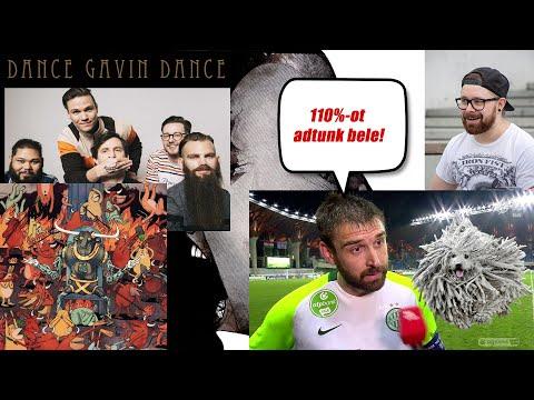 TÍZPERTÍZ, KÖSZCSÁ! | Dance Gavin Dance - Afterburner (2020)