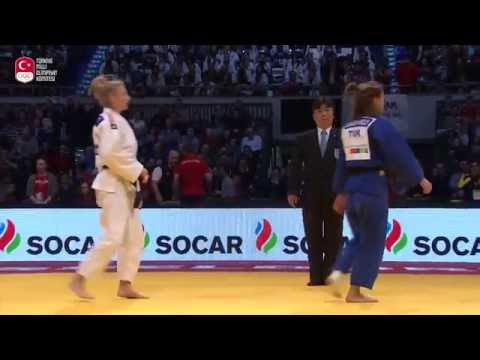 "Turkish international judoka Büşra Katipoğlu ""I expect a medal in Rio"""