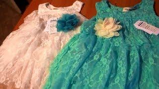 Распаковка посылок с Китая, Алиэкспресс!!! Красивые платья на девочек!
