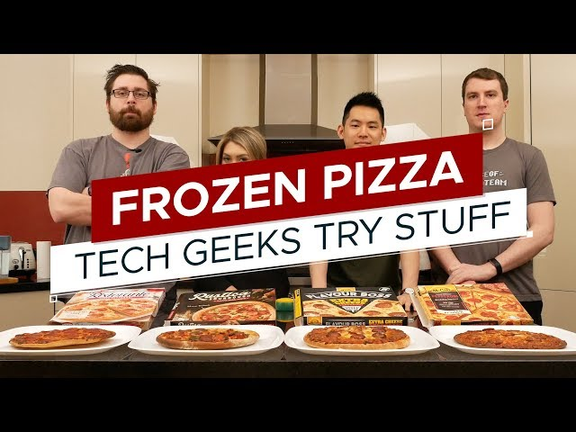 Taste Test: Frozen Pizza DOWN UNDER | TGTS S3E5