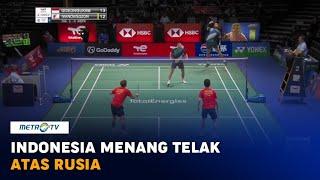 Indonesia Menang Telak Atas Rusia di Piala Sudirman 2021