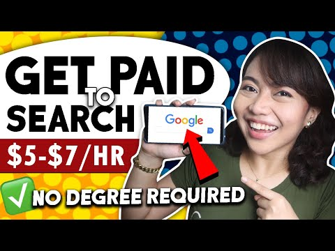 Earn $5-$15/HR by SEARCHING ON GOOGLE | Web Search Evaluator Online Job
