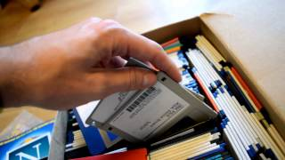 Huge Box of Floppy Disks & Cover Discs - Attic Finds | Nostalgia Nerd