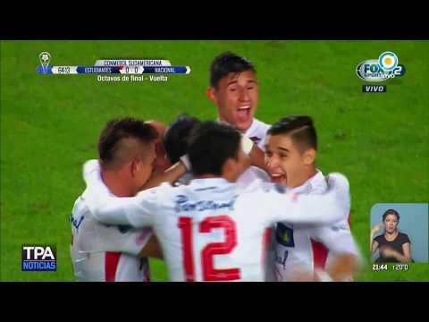 Sudamericana: Estudiantes cayó ante Nacional