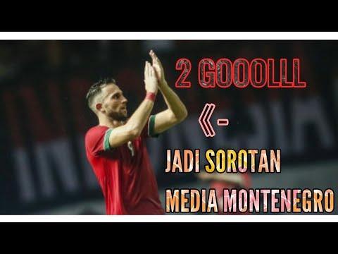Gol Ilija Spasojevic ke Gawang Guyana Jadi Sorotan Media Montenegro