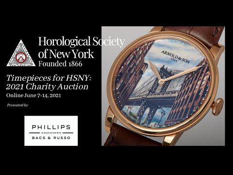 Timepieces for HSNY: 2021 Charity Auction (June 7-14)