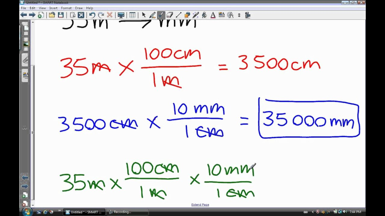 worksheet How To Convert Units converting between si units and 2 wmv youtube wmv