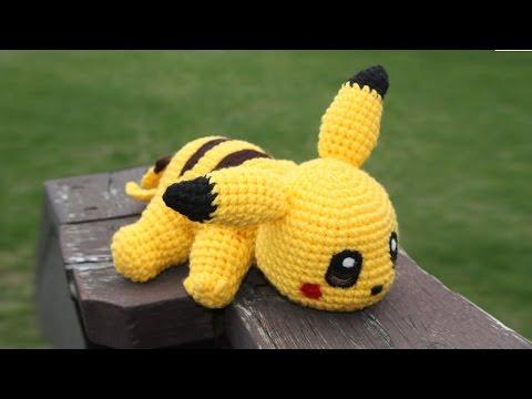 Tuto pikatchu au crochet 2/2 - YouTube | 360x480