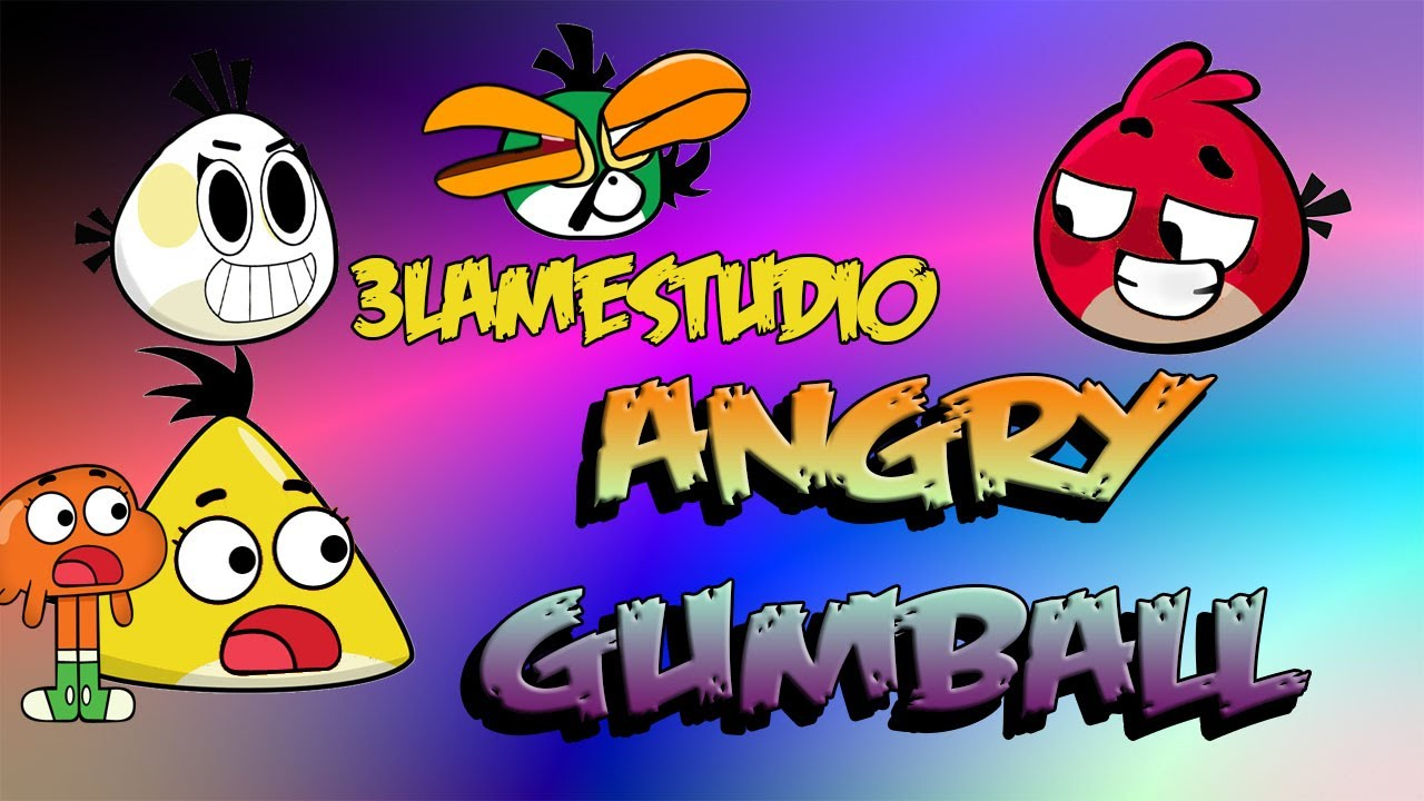 angry gumball angry birds parody - YouTube