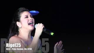 Regine Velasquez - R3.0 Pala Casino 2018 - Tuwing Umuulan