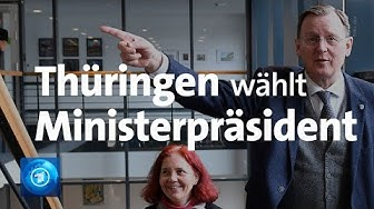 Thüringer Landtag wählt Ministerpräsidenten