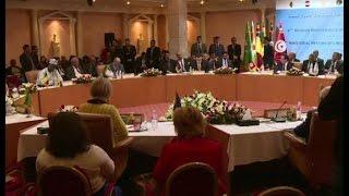 اختتام الاجتماع الوزاري الثامن لدول جوار ليبيا بتونس