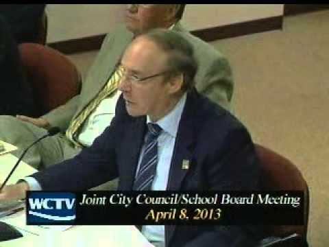 Joint Meeting Chesapeake City Council & School Board - 4/8/13