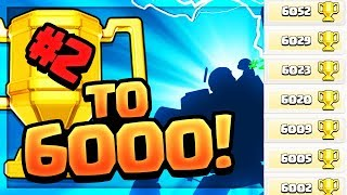 6000 TROPHIES! Clash of ClansQuest to 6000, Episode #2