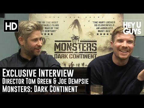 Tom Green & Joe Dempsie   Monsters: Dark Continent