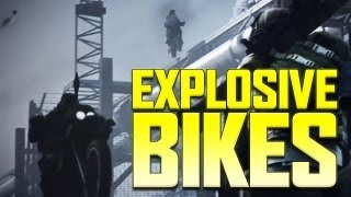 Explosive Bikes - BF3 End Game Capture the Flag Gameplay