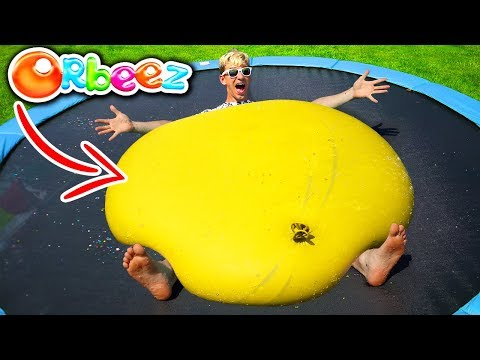 Download Youtube: GIANT ORBEEZ BALLOON!! (CRUSHED)