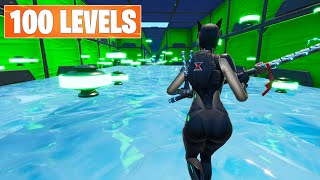 **SUPER EASY** 100 LEVEL DEFAULT DEATHRUN (Fortnite Creative)