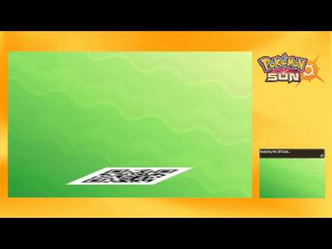 HOW TO USE ANY QR CODE TO GET RARE POKEMON | Pokemon Sun and Moon