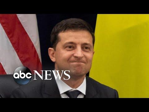 Trump, Ukraine president respond to impeachment inquiry, transcript release | Nightline